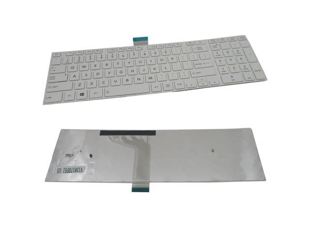 Laptop Keyboard best price in Karachi Keyboard Toshiba C50A/C55A/C55D/C55T | White | Frame