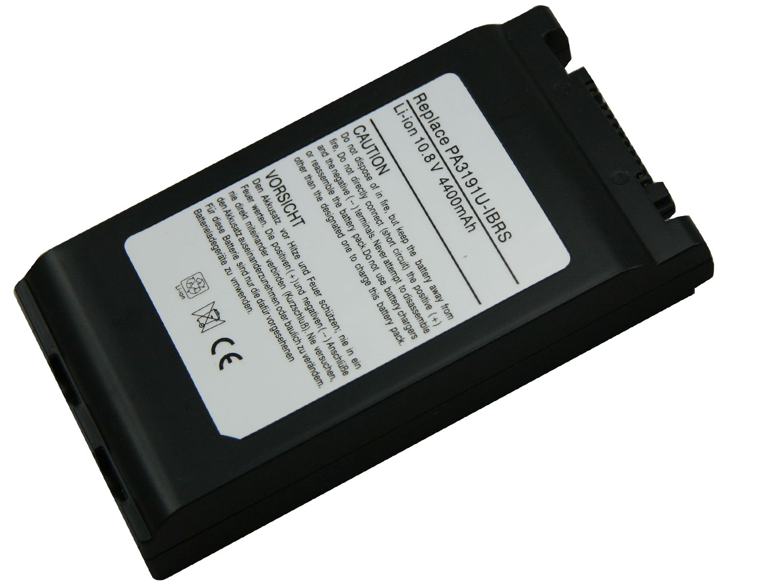 Laptop Battery best price in Karachi Battery Toshiba 3191/3128 | 6 Cell (Black)