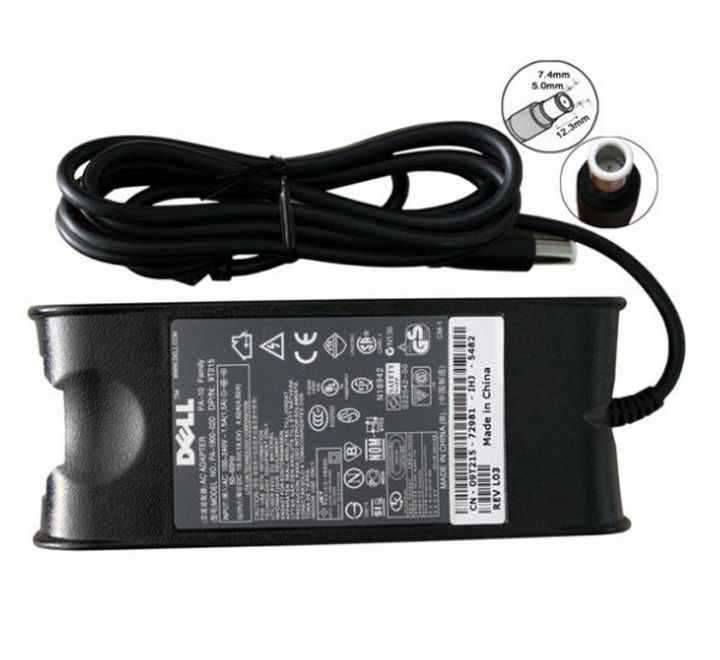 Laptop Adapter best price in Karachi Used Adapter Dell 19v - 4a62 | Center Pin-90w (Old Shape) ORG