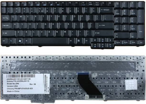 Laptop Keyboard best price in Karachi Keyboard Acer Aspire 5335/5535/5735/5737 | Black