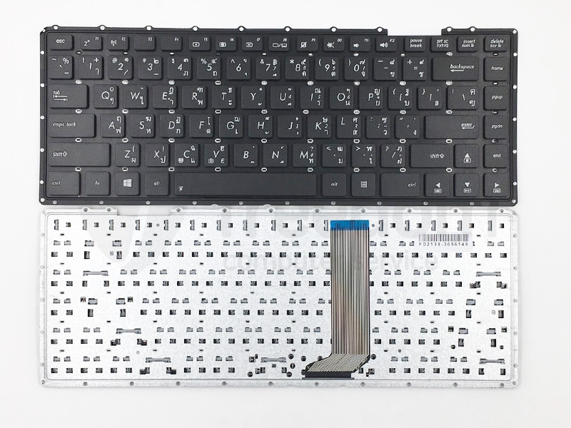 Laptop Keyboard best price in Karachi Keyboard Asus K450L/ X450L/ K455L/ X452C | Black | Internal