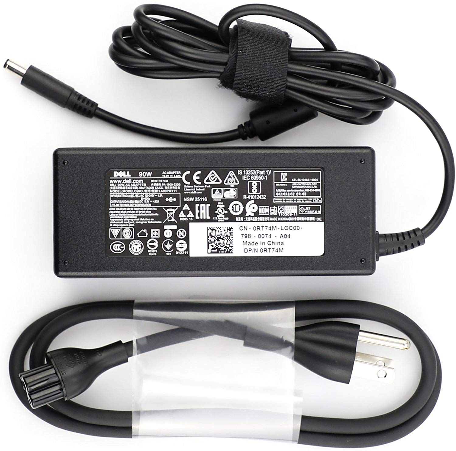 Laptop Adapter best price in Karachi Adapter Dell 19v5 - 4a62 | XPS 90w  (4.5*3.0) Old Shape (ORG)