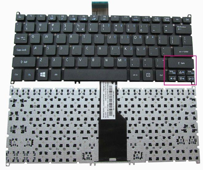 Laptop Keyboard best price in Karachi Keyboard Acer Aspire AO725/AO726/S3-951/S3-371/V5-171/V5-121/V5-131/S3-391