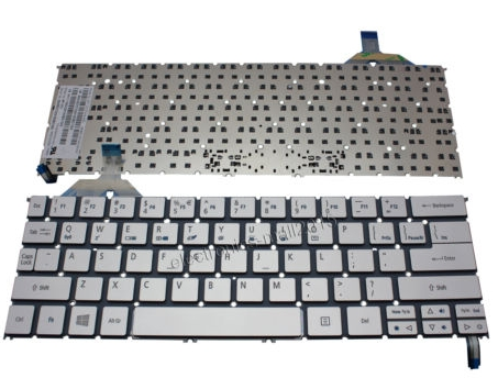 Laptop Keyboard best price in Karachi Keyboard  Acer Aspire S7-391 | Backlit (Silver) (UK)
