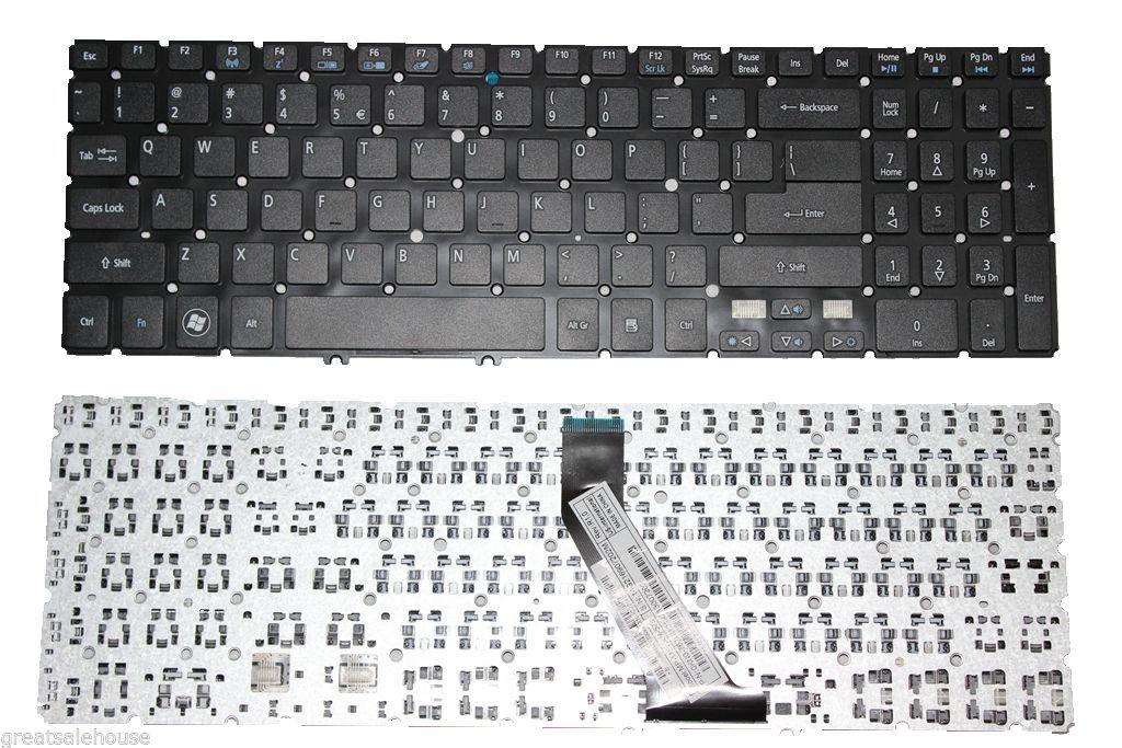 Laptop Keyboard best price in Karachi Keyboard Acer Aspire V5-531/V5-551/V5-571 m5-581 | Black